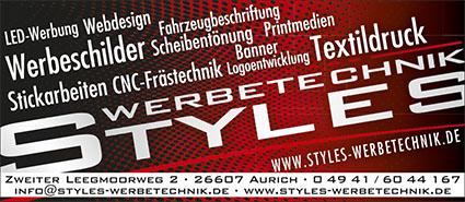 Styles Werbetechnik Aurich
