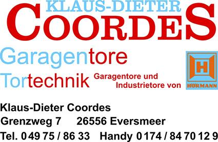 Klaus Dieter Cordes Garagentore