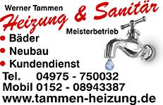 Tammen Heizung und Sanitär